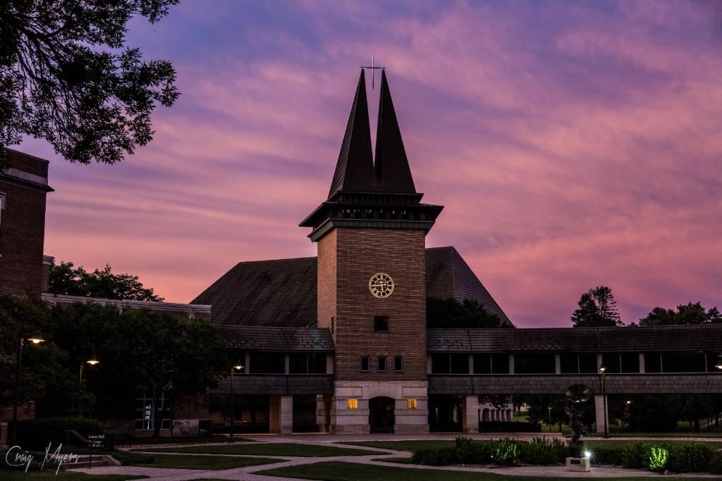 Wartburg College Chapel - ID: 15152024 © Craig W. Myers