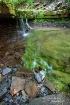 Green Rocky Falls