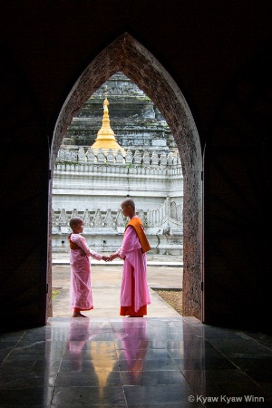 2 Burmese Nuns
