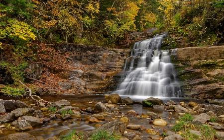 Kent Falls Ct Late Fall