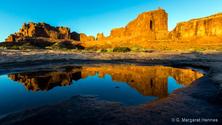 Reflections 1, Arches National Park