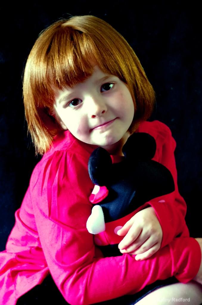 Love My Stuffed Toy - ID: 15171361 © Kathy Radford