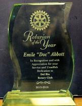 Rotarian of the Year Award