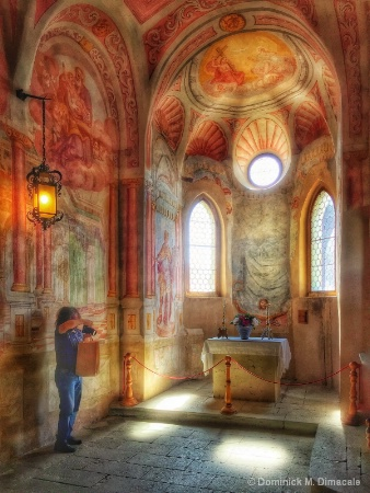 ~ ~ INSIDE THE CHAPEL ~ ~