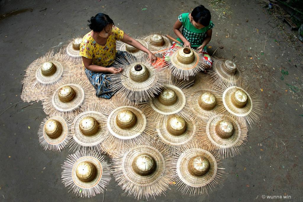 bamboo hats