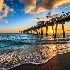 2Sunsetting Thru the Pier - ID: 15176668 © Richard M. Waas
