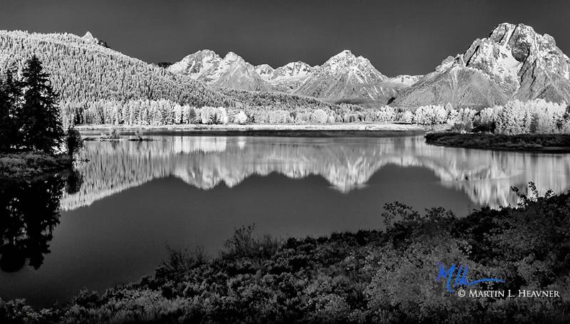 Mountain Majesties - Grand Teton Natl Park - ID: 15178054 © Martin L. Heavner