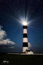 Lighthouse By Moonlight; Nags Head, NC