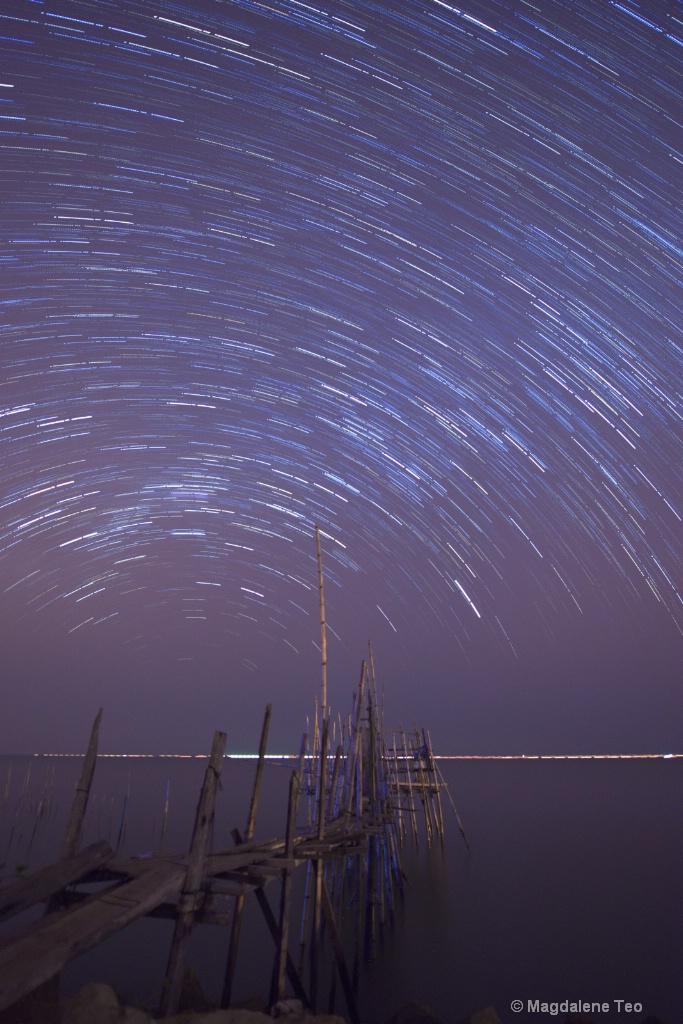 Star Trail @ Batu Pahat, Malaysia  - ID: 15184389 © Magdalene Teo