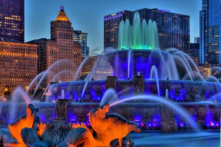 Buckingham Fountain Blues