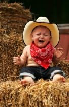 Little Crying Cowboy