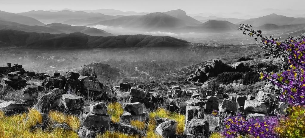 Mountains beyond the Rocks