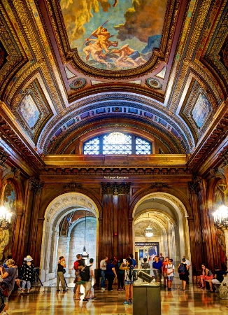 MacGraw Rotunda NYC Library