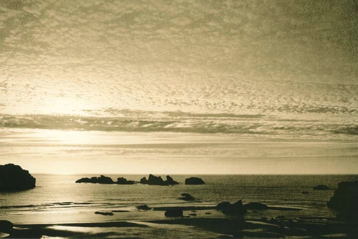Bandon Beach Sunset #2 - ID: 15191921 © Joan E. Bowers
