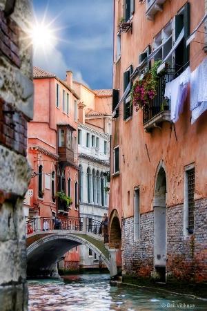 Venice shines