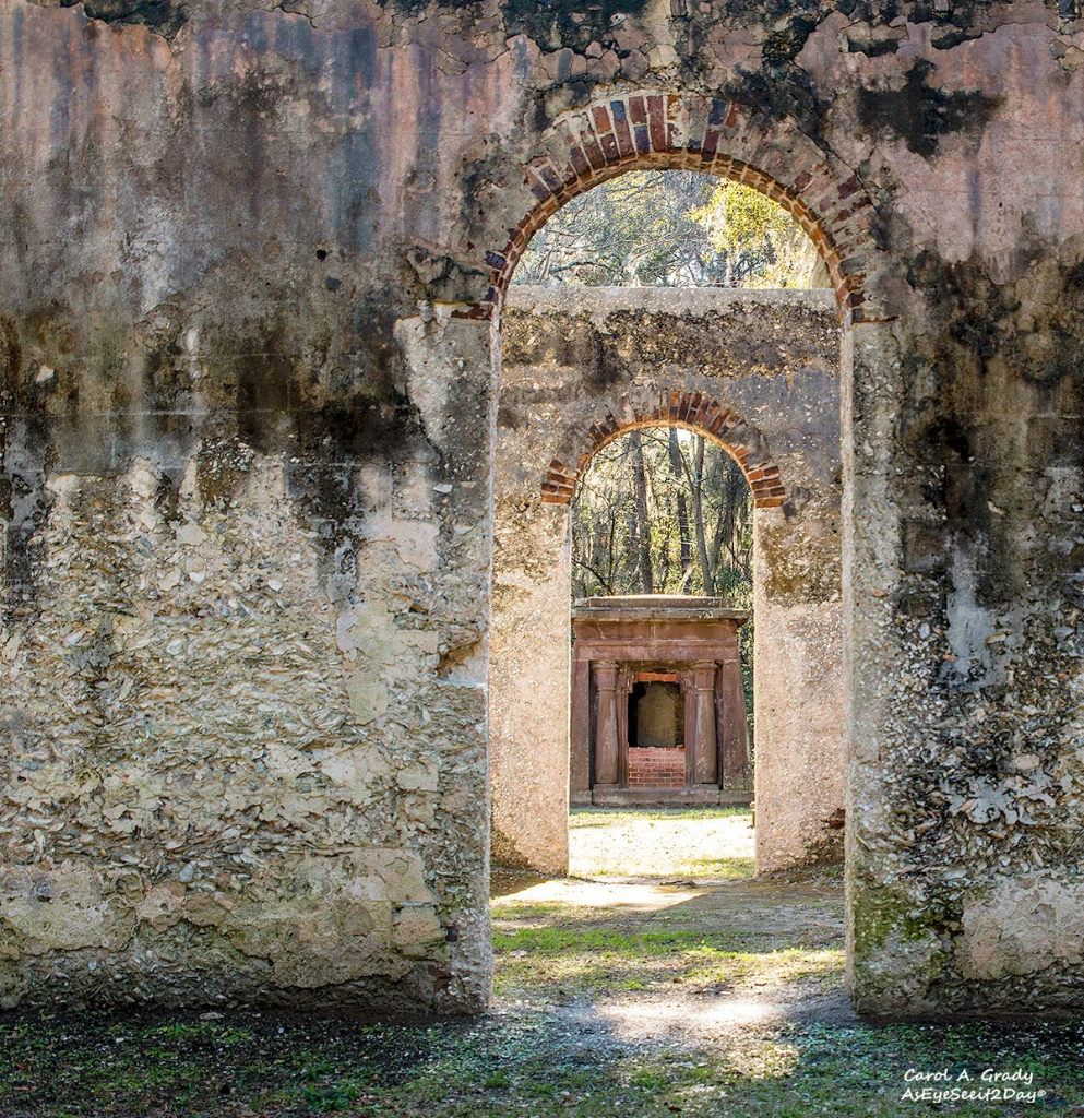 Doorways at the Chapel of Ease