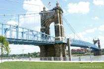 Roebling Suspension Bridge-before