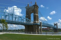 Roebling Suspension Bridge-after