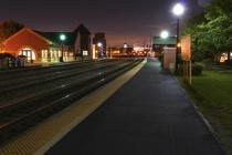 Wheaton Station Before