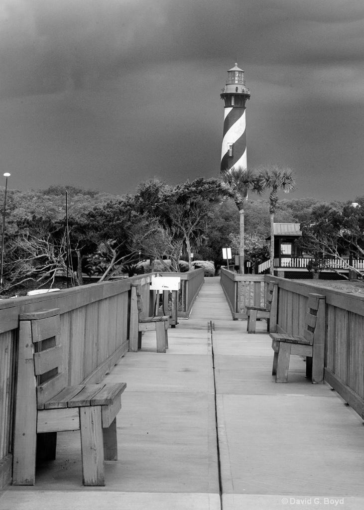 St. Augustine Lighthouse - ID: 15204285 © David G. Boyd