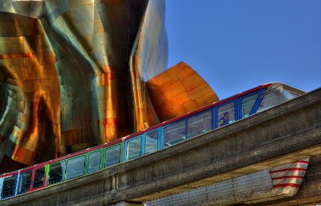 Gehry and Train