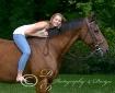 A girl & her hors...