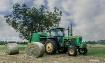 Tractor and 2 bal...
