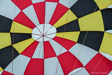 Maryland Flag Parasail