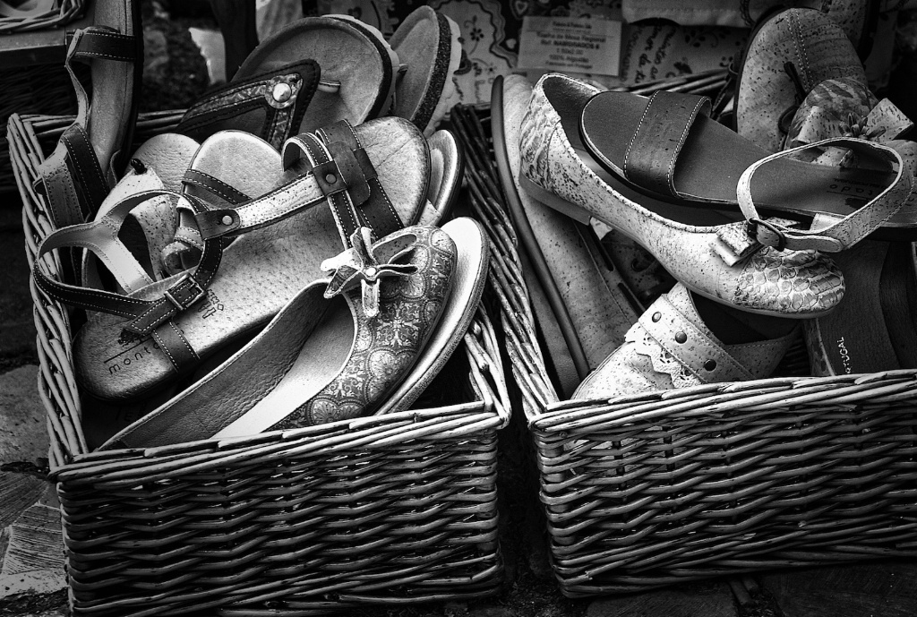 Old Shoes for Sale - ID: 15212043 © David Resnikoff