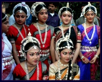 Indian Odissi Group Dancer...