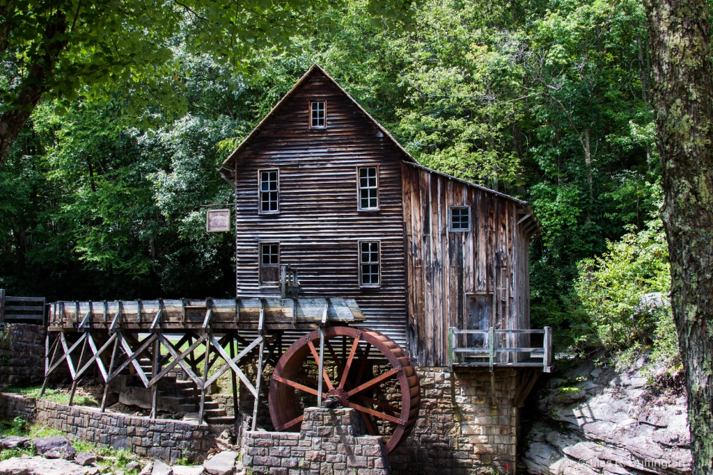 Glade Creek Grist Mill - ID: 15218553 © Lisa R. Buffington