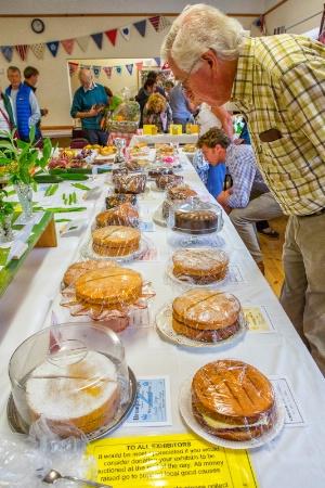 Cake Judging at the Village Fair