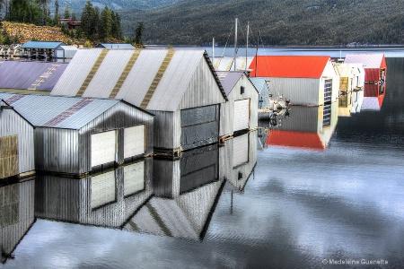 Kaslo-boathouses