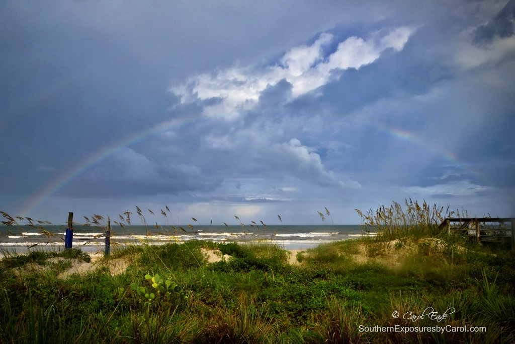 Rainbow over Ponte Vedra Beach - ID: 15234992 © Carol Eade