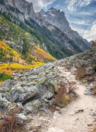 Cascade Canyon, Wyoming