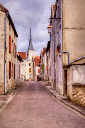 Rue Victor Hugo - Mussy Sue Seine - France