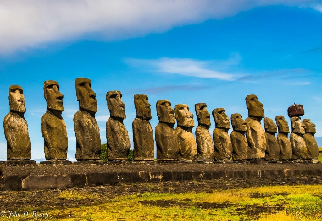 Ahu Tongariki Easter Island - ID: 15240902 © John D. Roach