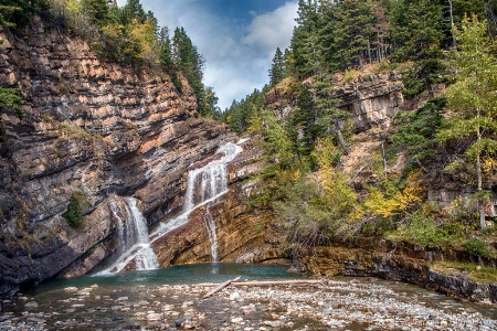 Waterton Falls