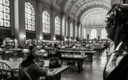 Bates Reading Room, Boston Public library