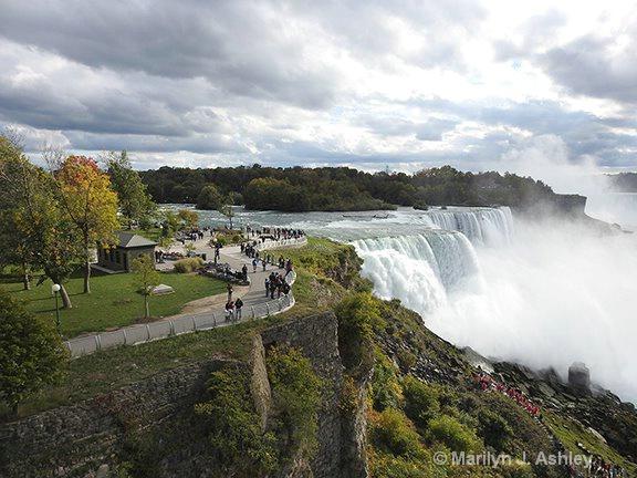 Niagara Falls from US - ID: 15254636 © Marilyn J. Ashley