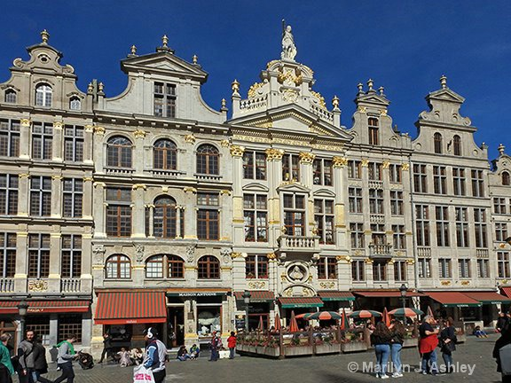 Brussels, Belgium-Guild Halls,Grand Place  - ID: 15255110 © Marilyn J. Ashley