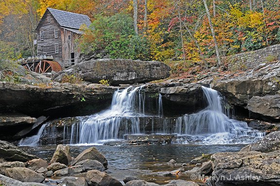 Glade Creek Mill, Babcock State Park WV - ID: 15255264 © Marilyn J. Ashley
