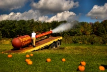 The Great Pumpkin Cannon