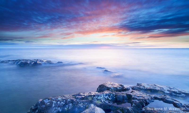 Sunrise on Lake Superior - ID: 15261003 © Roxanne M. Westman