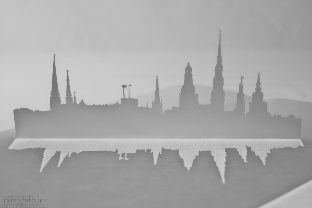 Riga in Vector