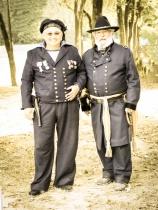 Civil War General & Sailor