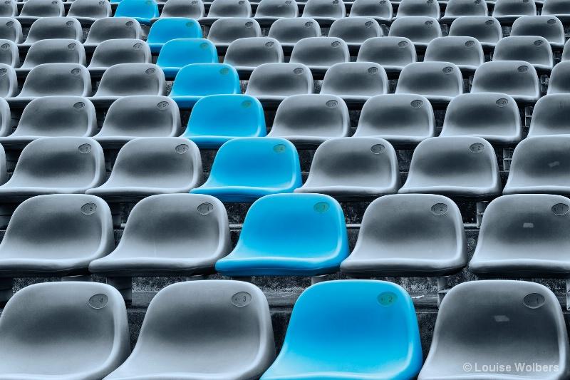 Singapore Stadium Seats - ID: 15270657 © Louise Wolbers