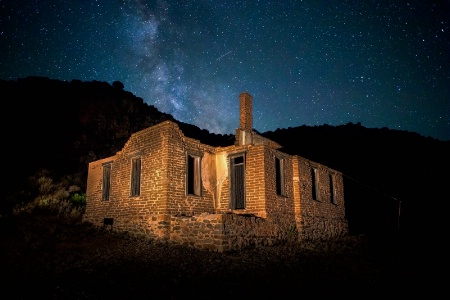 Officer's Quarters Under The Milky Way