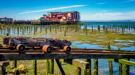 Old Cannery Site in Astoria, Oregon