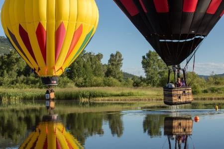 Colorful Balloons a splashing ..